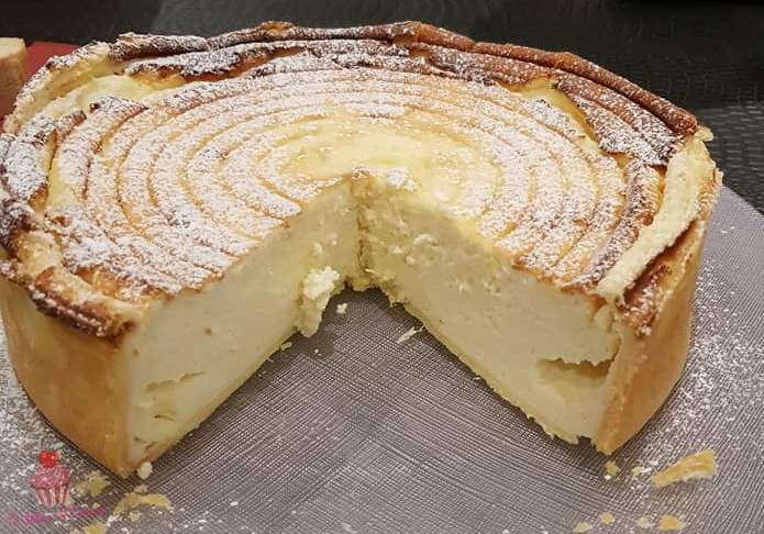 Tarte au fromage blanc à l'alsacienne